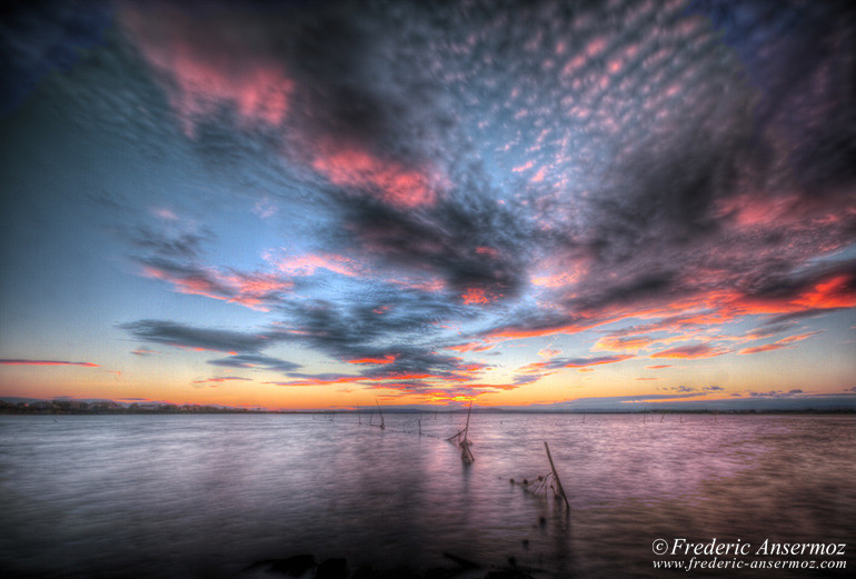 sunset-water-hdr