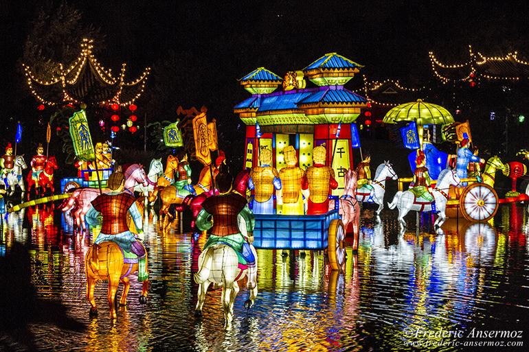 Festival des lanternes montr al jardins de lumi re for Lumiere de jardin