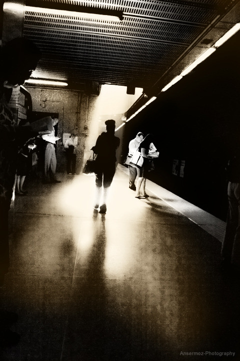 Ansermoz Photography Boston Subway