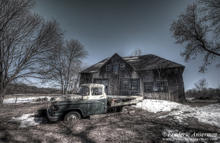 Abandoned fargo truck 001