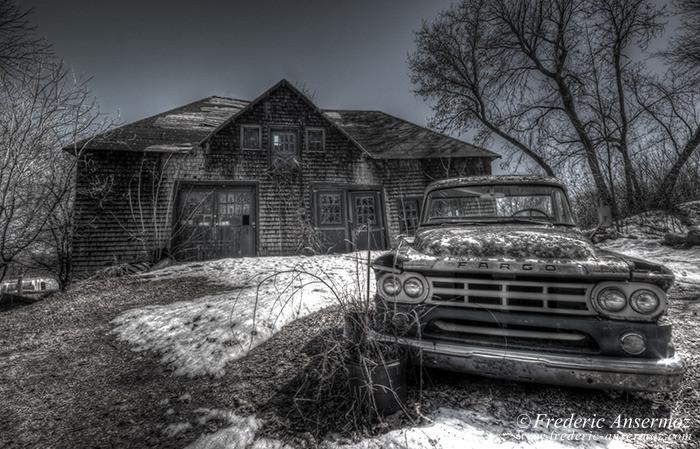 Abandoned fargo truck 002