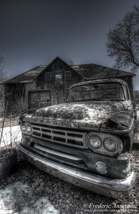 Abandoned fargo truck 003