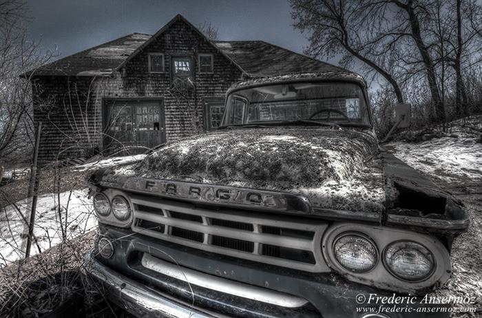 Abandoned fargo truck 004