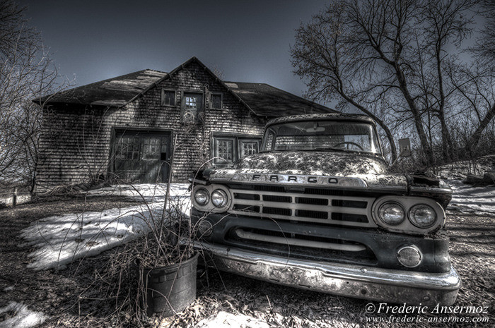Abandoned fargo truck 005