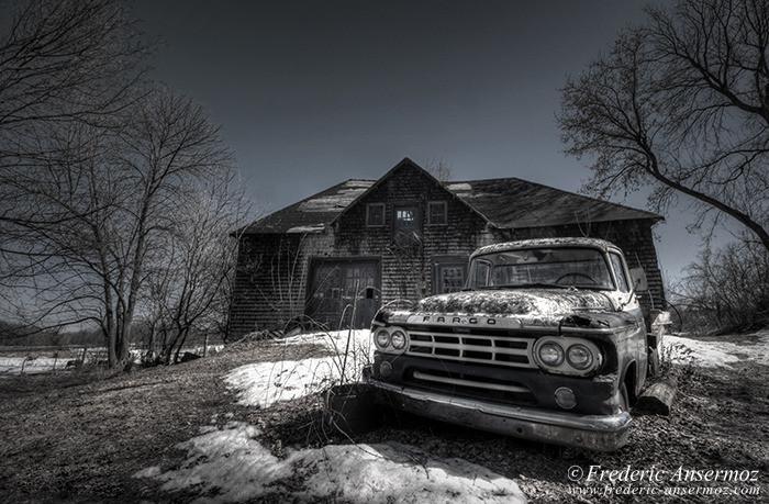 Abandoned fargo truck 006