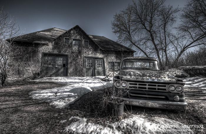 Abandoned fargo truck 007