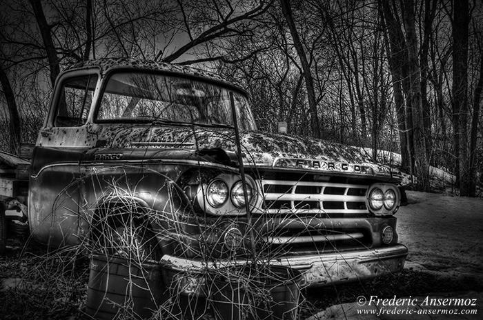 Abandoned fargo truck 010