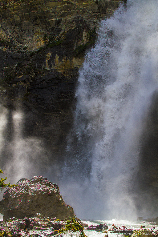 Rockies waterfall