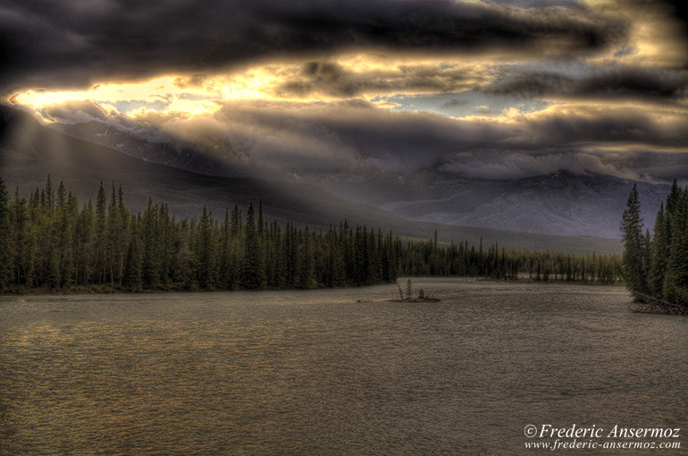 Athabasca river hdr
