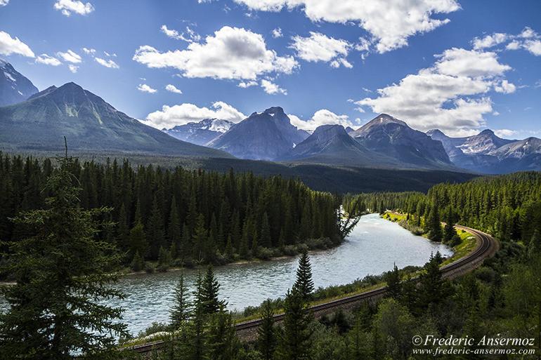 Banff bow river