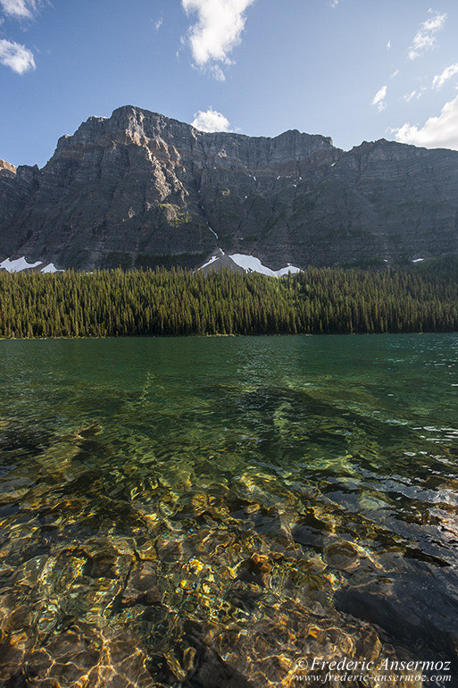 Lac Boom en Alberta, Canada