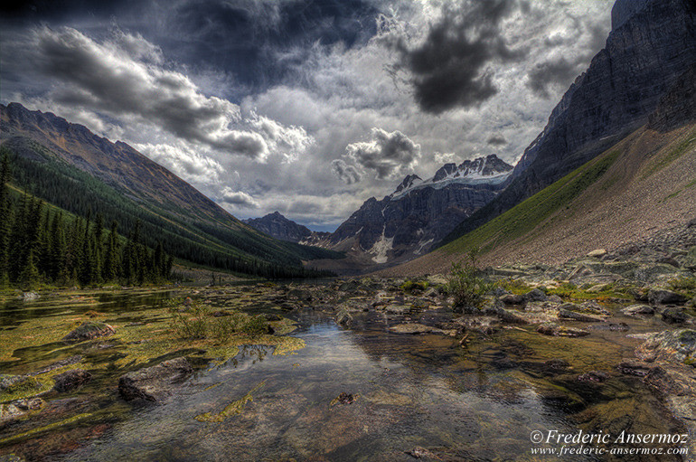 Consolation lake alberta hdr