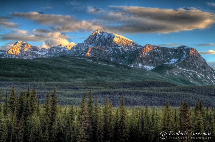 11 banff national park hdr