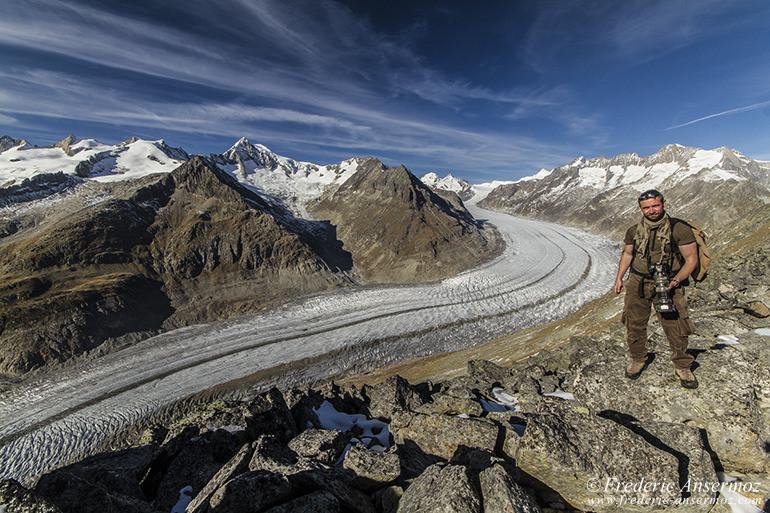 Aletsch glacier 23