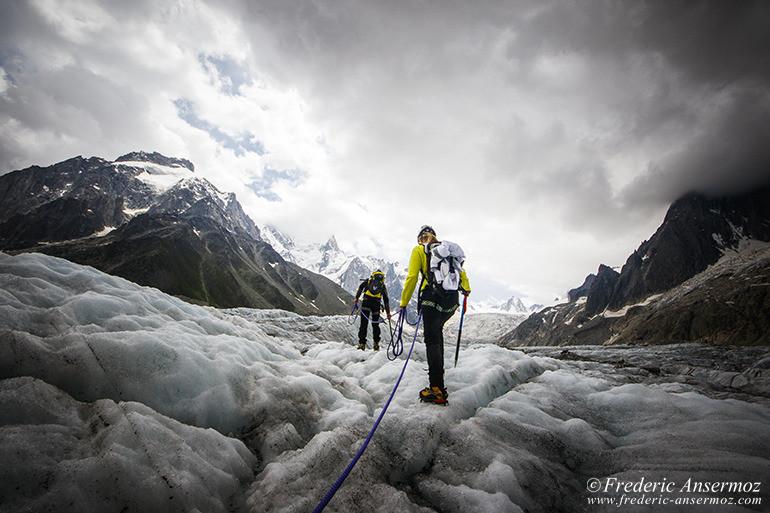 Marche glacier chamonix 12