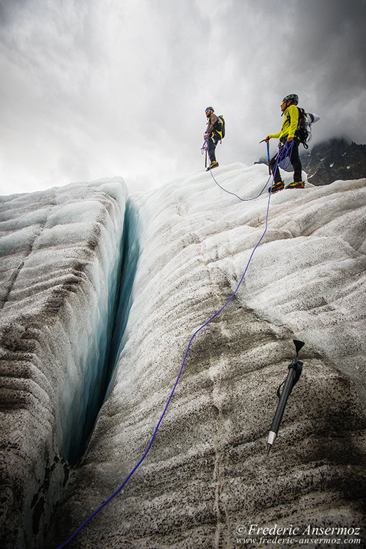 Marche glacier chamonix 15