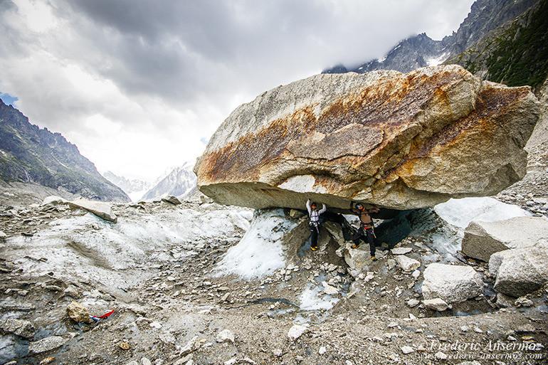 Marche glacier chamonix 17