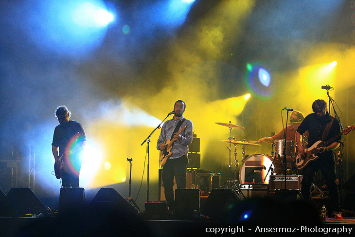 Ben Harper and Relentless7 on stage in Montreal