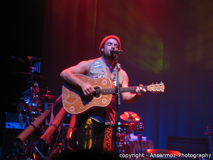 Xavier Rudd at Metropolis in Montreal, concert
