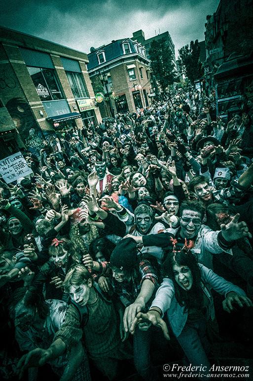 Zombie walk montreal