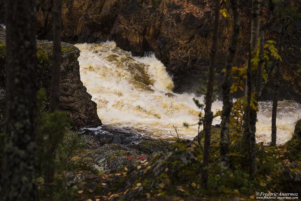 Kiutaköngäs rapids, Oulanka Park