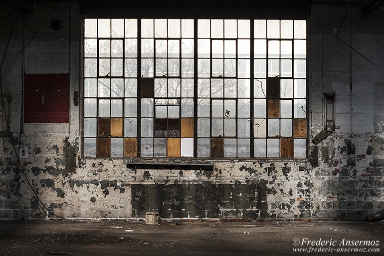Abandoned plant stelfil 18