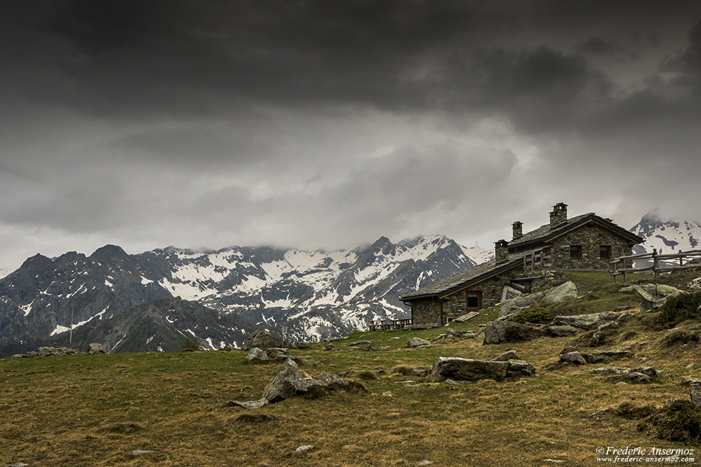 Ristoro Lago Muffè, Mont Avic