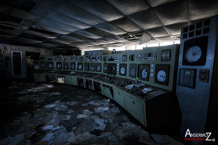 Incinerateur des carrieres salle de controle 032