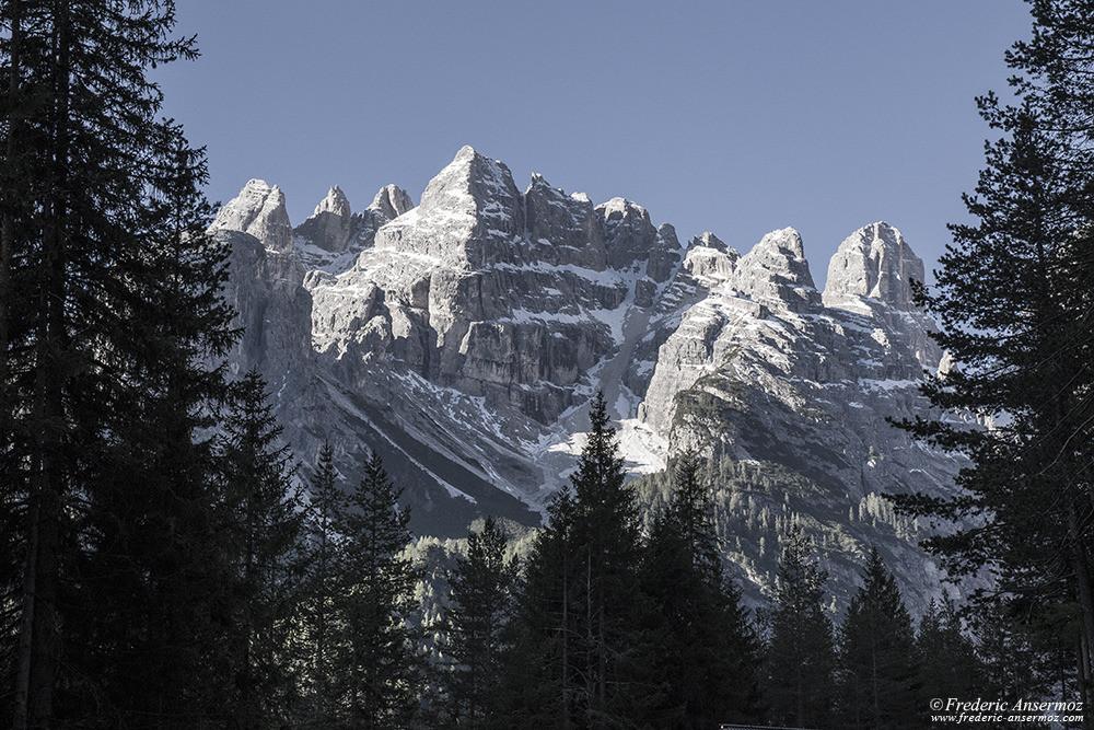Alpes italiennes, région des Dolomites