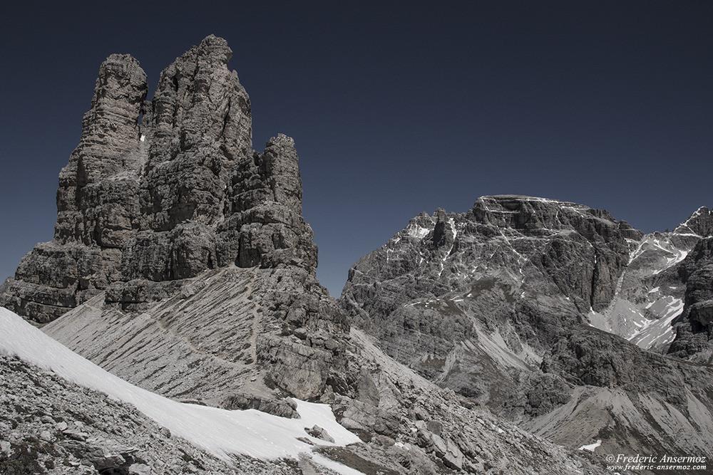 Randonnée en Italie, Dolomites, Alpes