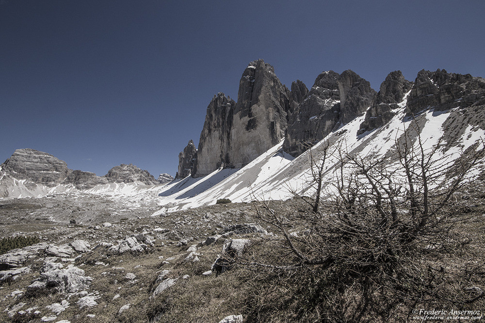 Explore the Dolomites in Italy, Tre Cime di Lavaredo