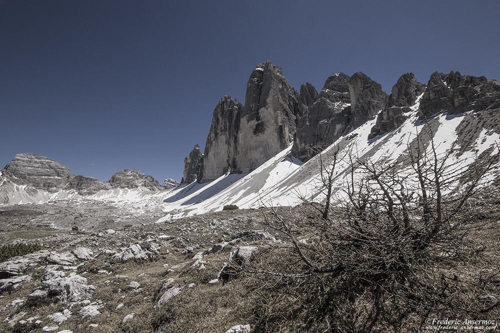 Explorer les Dolomites en Italie, Tre Cime di Lavaredo