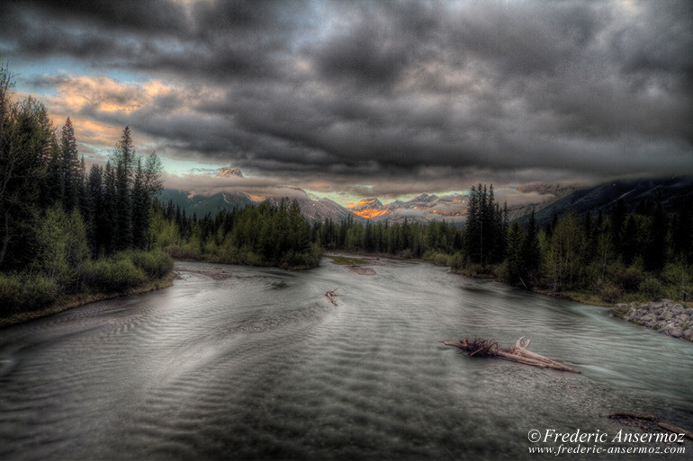 Kananaskis country 30 hdr