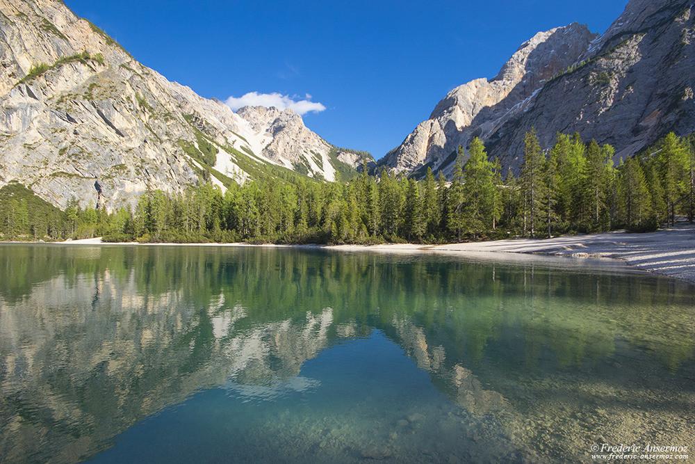 Lago di braies italia 06