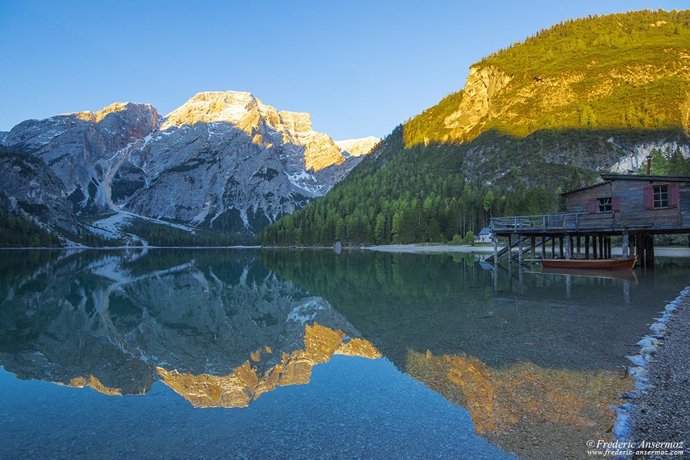 Lago di braies italia 15
