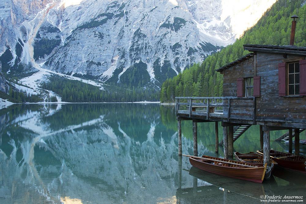 Lago di braies italia 16