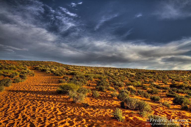 Arizona desert hdr
