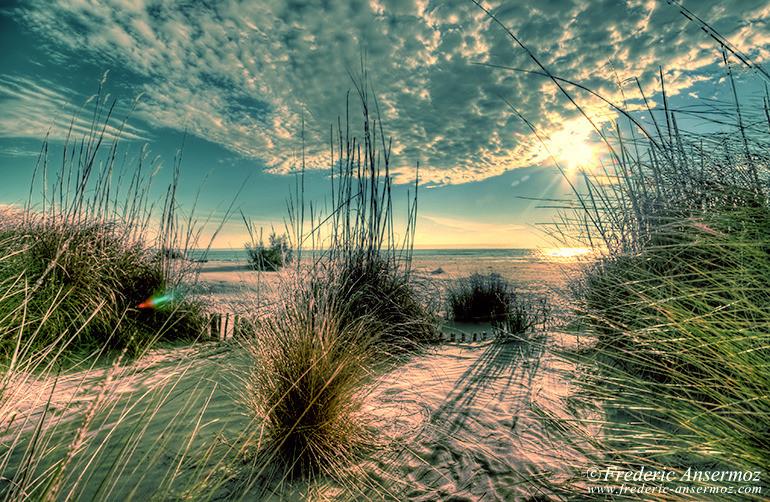 Mediterranean beach hdr