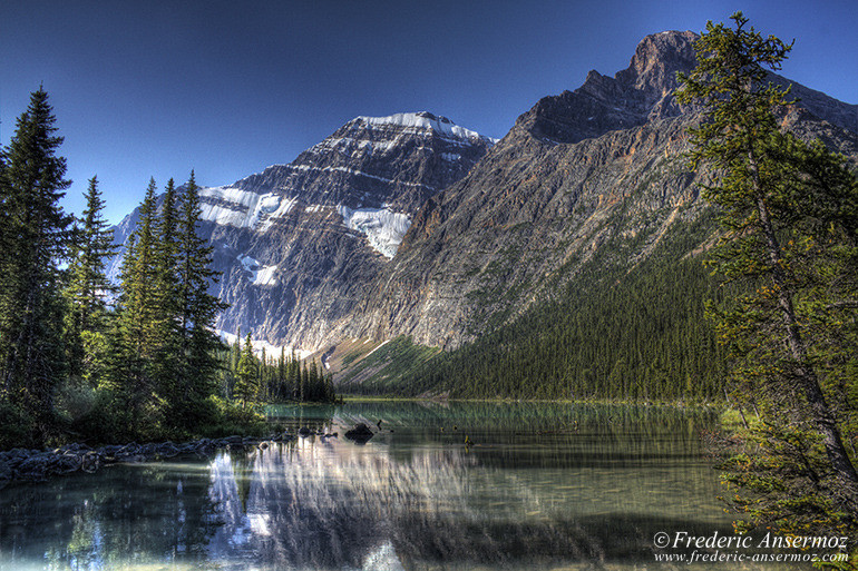 Mount edith cavell hdr