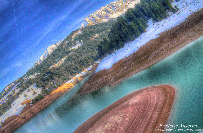 Swiss lake hdr