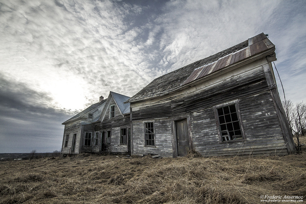 Abandoned house in Quebec, Eastern townships