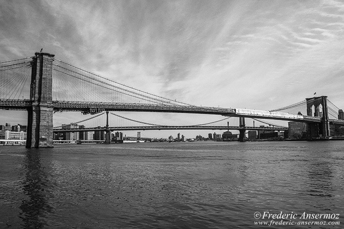 Brooklin bridge bnw