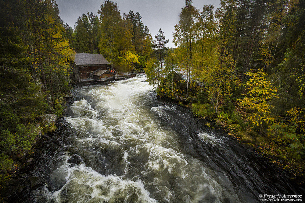 Myllykoski mill near Juuma, Oulanka National Park