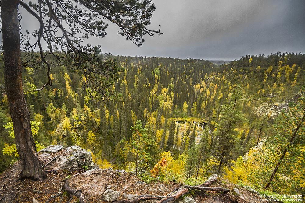 Kallioportti lookout point, Oulanka Park, Kuusamo Finland