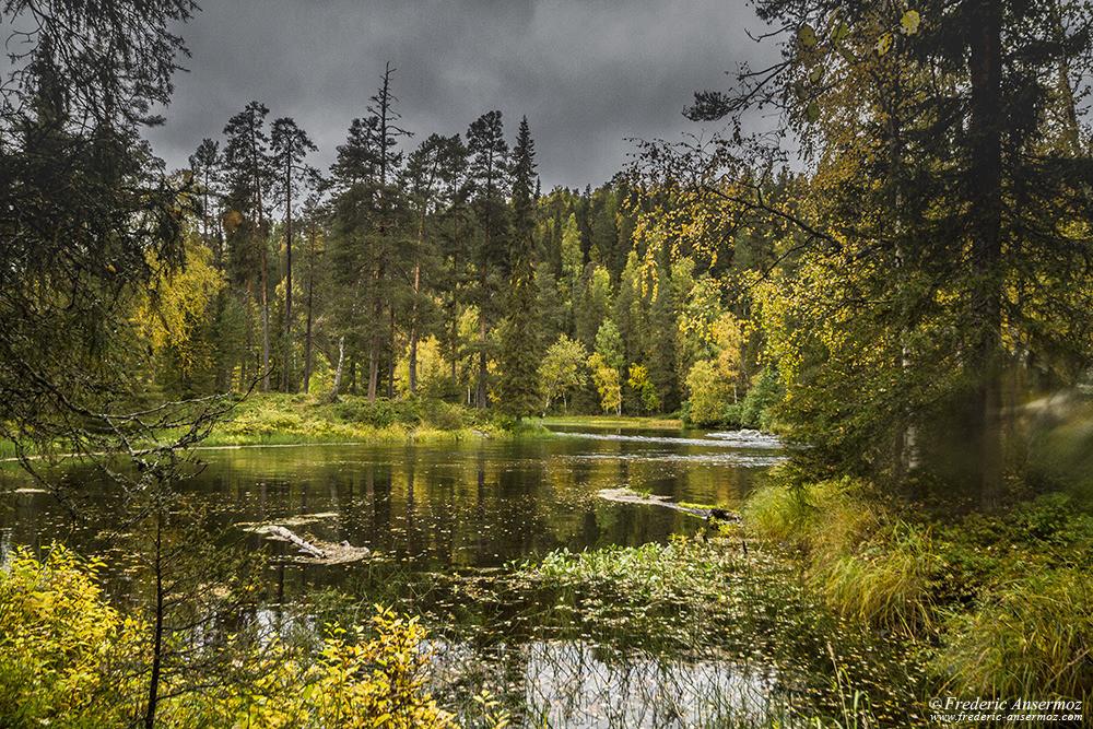 River Kitkajoki, Oulanka National Park, Finland