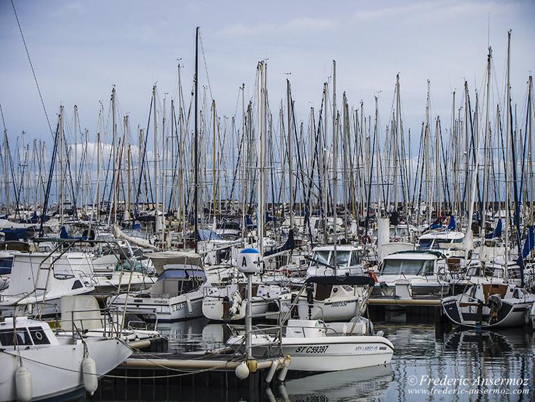 Bateaux palavas port