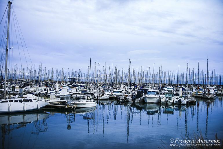 Palavas harbor