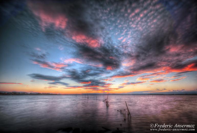 Sunset mediterranee hdr