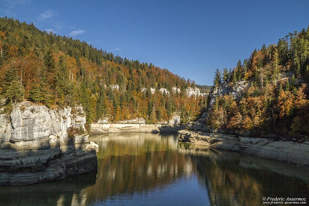 Manque d'eau dans le Doubs, Gorges du Doubs