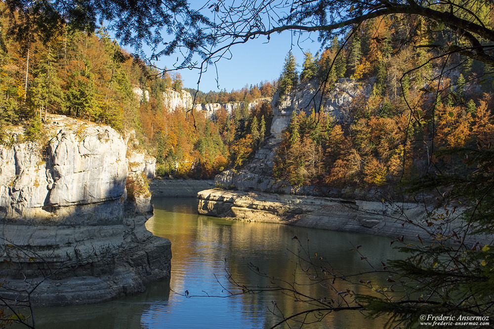 Les Gorges du Doubs en automne